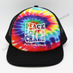 Tie Dye Polyester Baseball Cap (Customer Design)