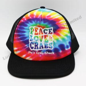 Tie Dye Polyester Baseball Cap (Customer Design)
