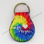 Tie Dye Neoprene Keychain (Customer Design)