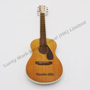 Polyresin Nashville Guitar Color Digital Printing Magnet