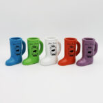Color Boot Shot Cups Set