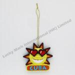 Polyresin CUBA Sunshine Ornament