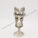 Polyresin Moose Head Shot Glass