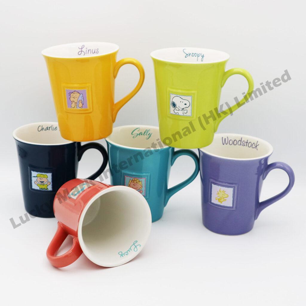 Souvenir Snoopy Colorful Mugs Audit
