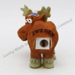 Polyresin Moose Pencil Sharpener