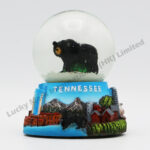 Polyresin 45mm Snow Globe Tennessee Black Bear