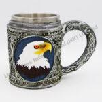 Eagle Polyresin Stainless Steel Mug