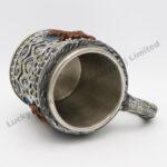 Moose Polyresin Stainless Steel Mug
