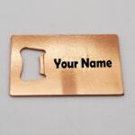 Stainless Steel Rose Gold Opener Magnet