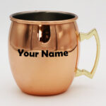 Stainless Steel Rose Gold Copper Mug
