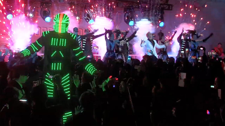 Jonny Blu 蓝强 Pop Hits of China Concert 中国流行歌演唱会