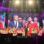 Jonny Blu hosting CCTV Chinese New Year Event in New York and Beijing (Jonny Blu蓝强主持中央电视台北美新年演唱会)