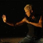 """Jonny Blu """"On The Edge"""" (Hong Kong, China) 蓝强 《刀锋》中国香港 . Photos from music video © 2005-2020 Jonny Blu Music/Blu Music Group"""