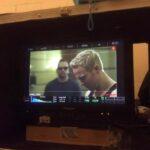 Jonny Blu filming Deadly Mist in China.