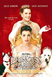 The Princess Diaries 2: Royal Engagement (Walt Disney Pictures, Buena Vista Pictures, 2005) Directed by Garry Marshall, Starring Anne Hathaway