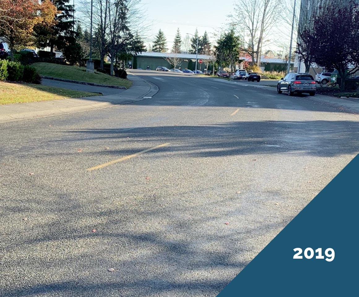 Doolittle Chip Seal - Mukilteo, 47th Ave. W - 2019, after Chip Seal