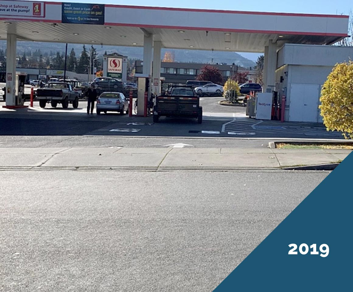 Doolittle Chip Seal - Port Angeles 2019, 14 years after DBST