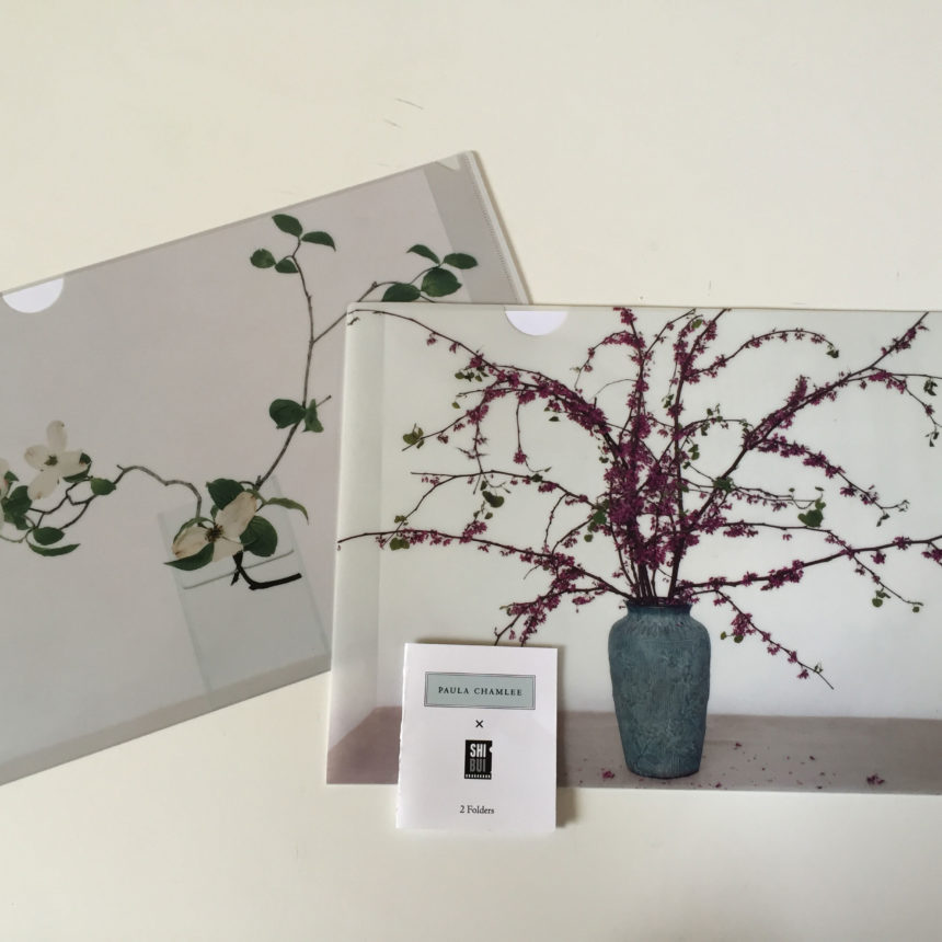 A gorgeous gift set of two Paula Chamlee's exquisite photo images of white dogwood and redbud