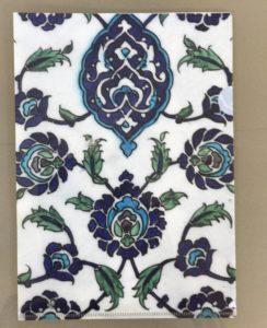 Tile, Ottoman front View