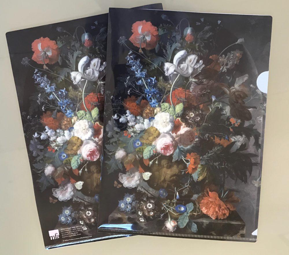 museum of fine art- Boston vases of flower by dutch master