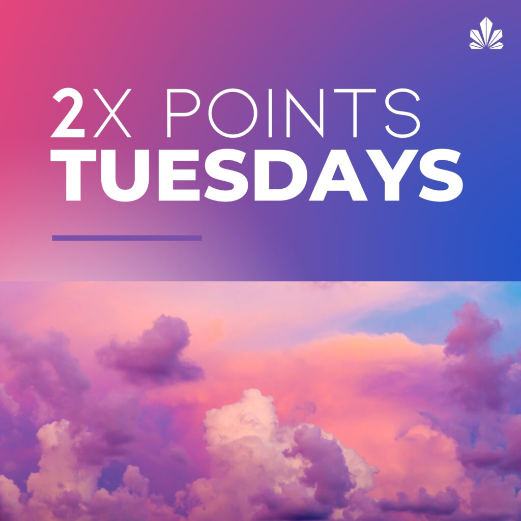 Double Points Tuesdays Daily Specials