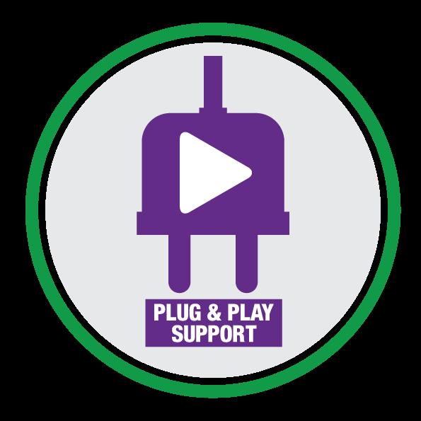 Plug & Play support logo