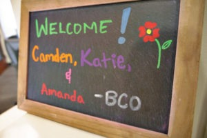bee cave orthodontics welcome sign