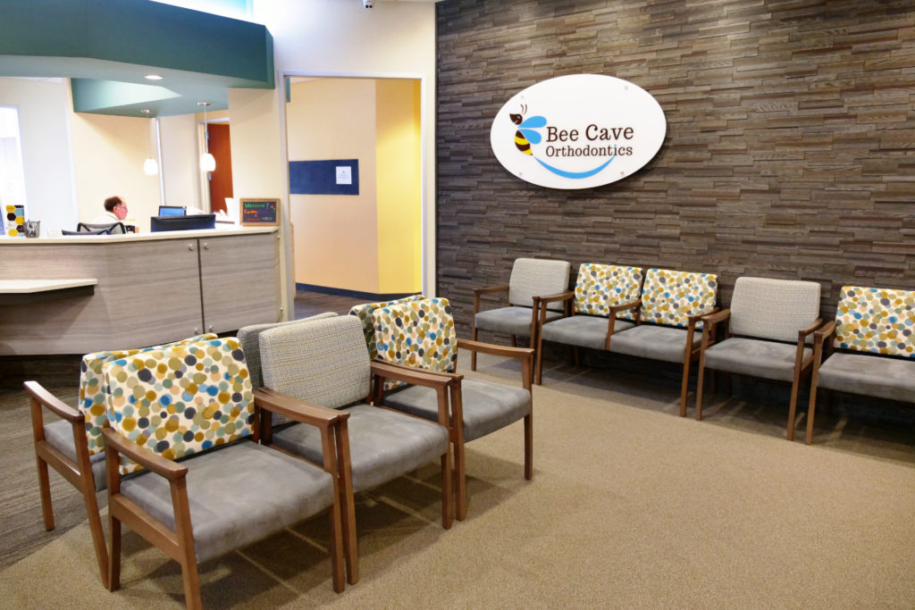 bee cave orthodontics waiting area
