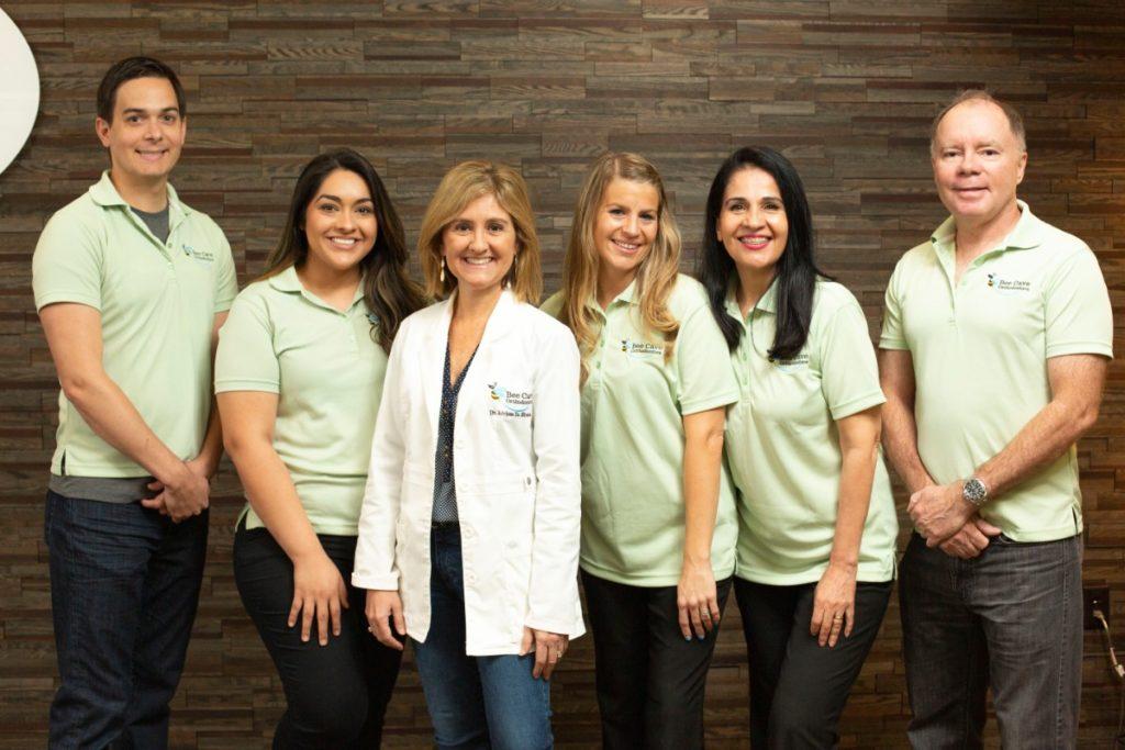 Bee Cave Orthodontics team photo