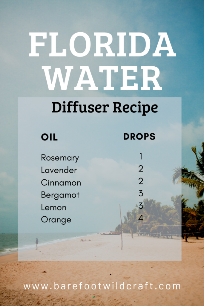 Diffuser Recipe  Magic Potion Florida Water Essential oils Relaxing and Uplifting
