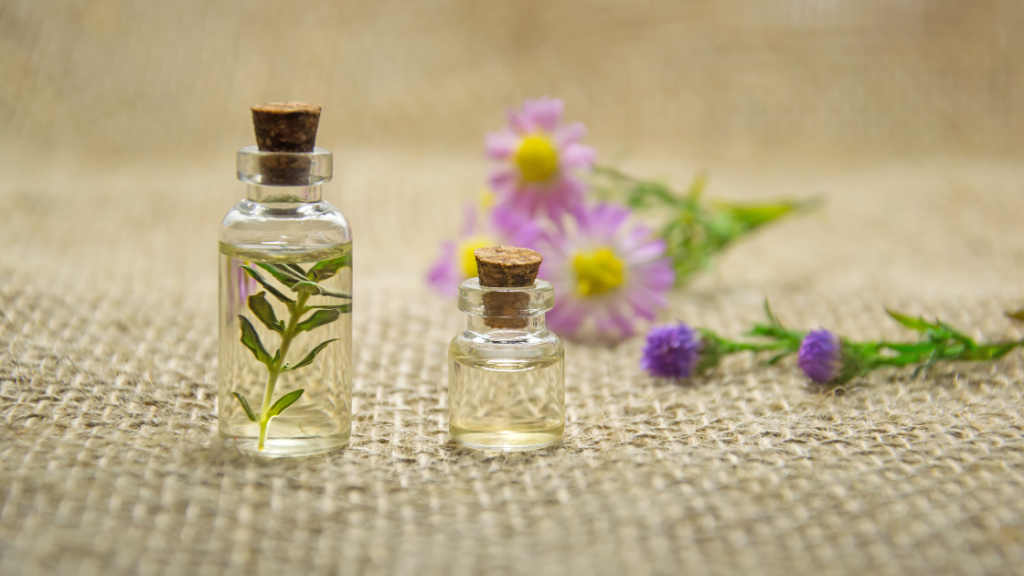 Oils for dressing candle