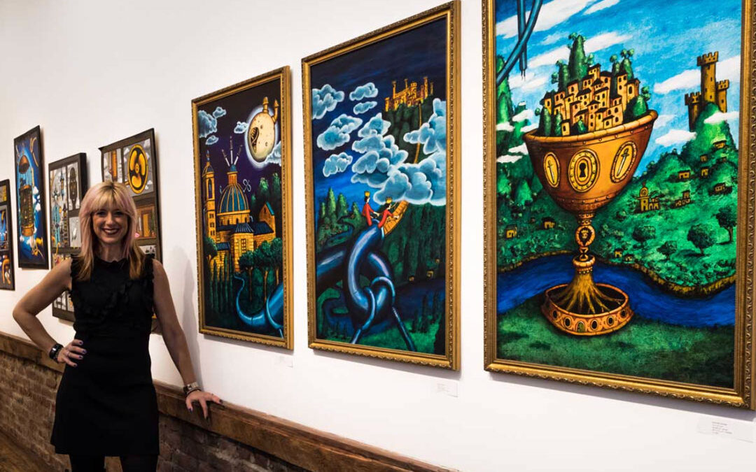 Kristin DeAngelis closes 107 Bowers Gallery, joins Art Fair 14C as Deputy Director
