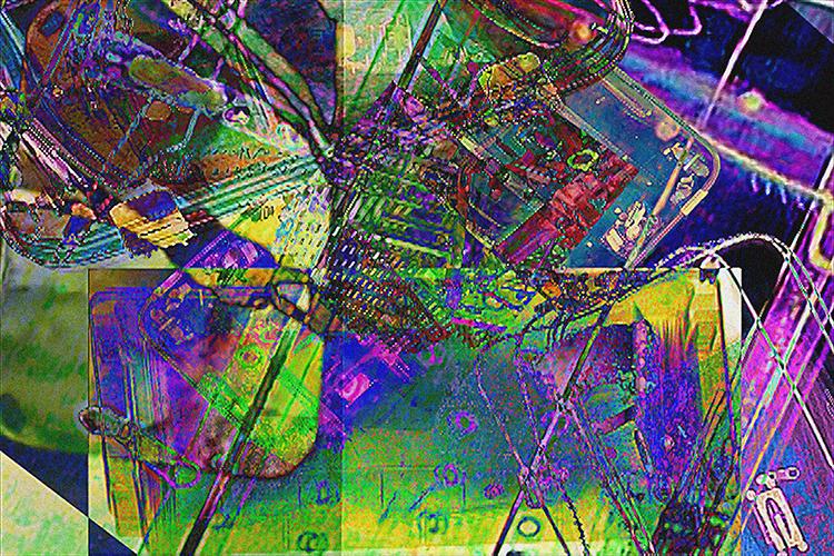 """Fear Machine"" video by Nedko Bucev, courtesy NJCU Art Department"
