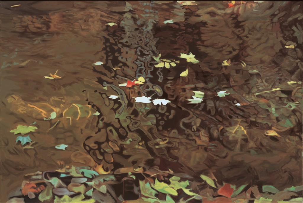 """""""Into the Eddy (1980)"""" by Ralph Wickiser, archival inkjet print, 26x40, courtesy Walter Wickiser Gallery"""