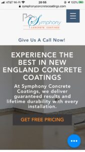 Symphony Concrete Coatings