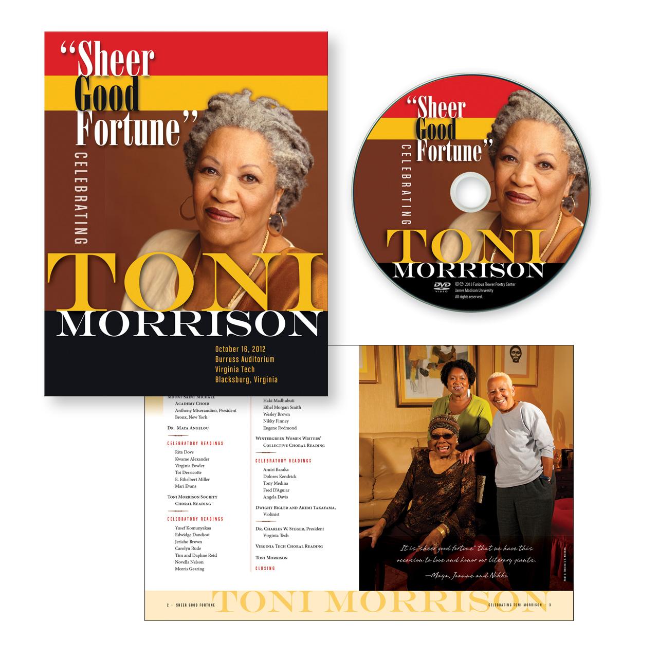Sheer Good Fortune honoring Toni Morrison