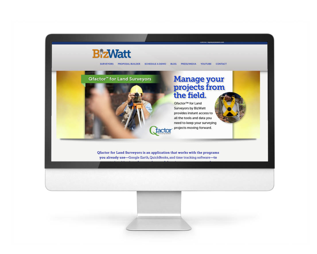 See this site live at Bizwatt.com