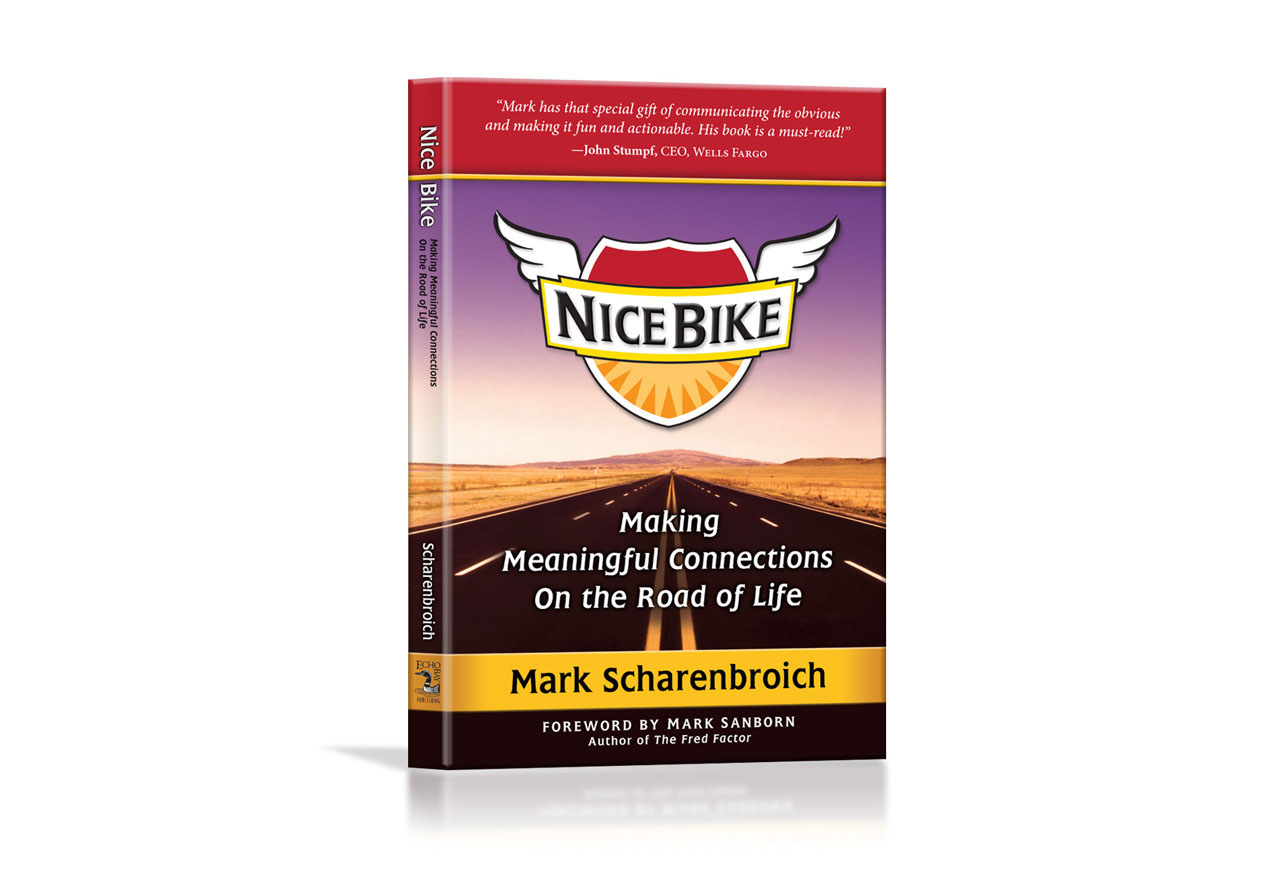 Nice Bike by Mark Scharenbroich