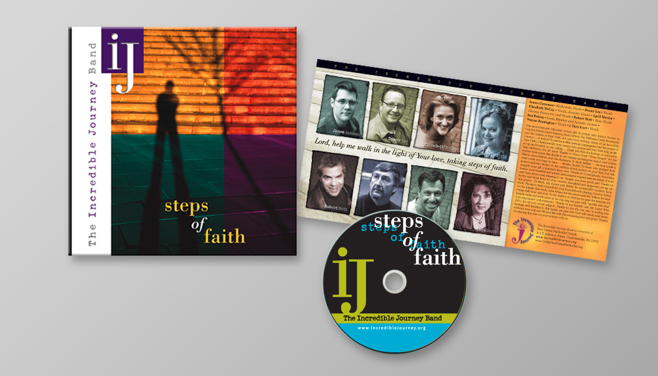 Steps of Faith | Music CD