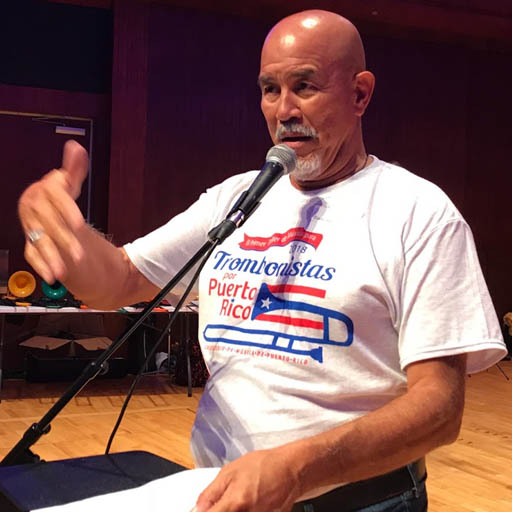 Trombonistas por Puerto Rico T-shirt Design