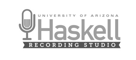University of Arizona Haskell Recording Studio logo