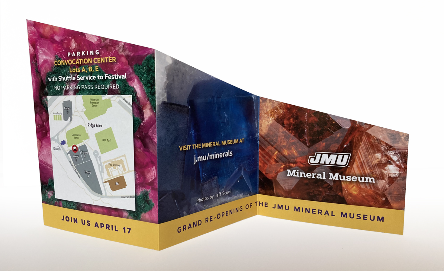 Mineral Museum invitation view 2