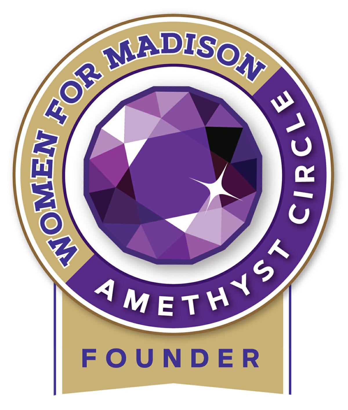 Women for Madison Amethyst Circle Founder logo