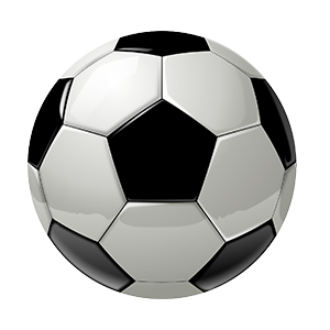 nfluids 3D model soccer ball for nanoparticle size reference for nanotechnology