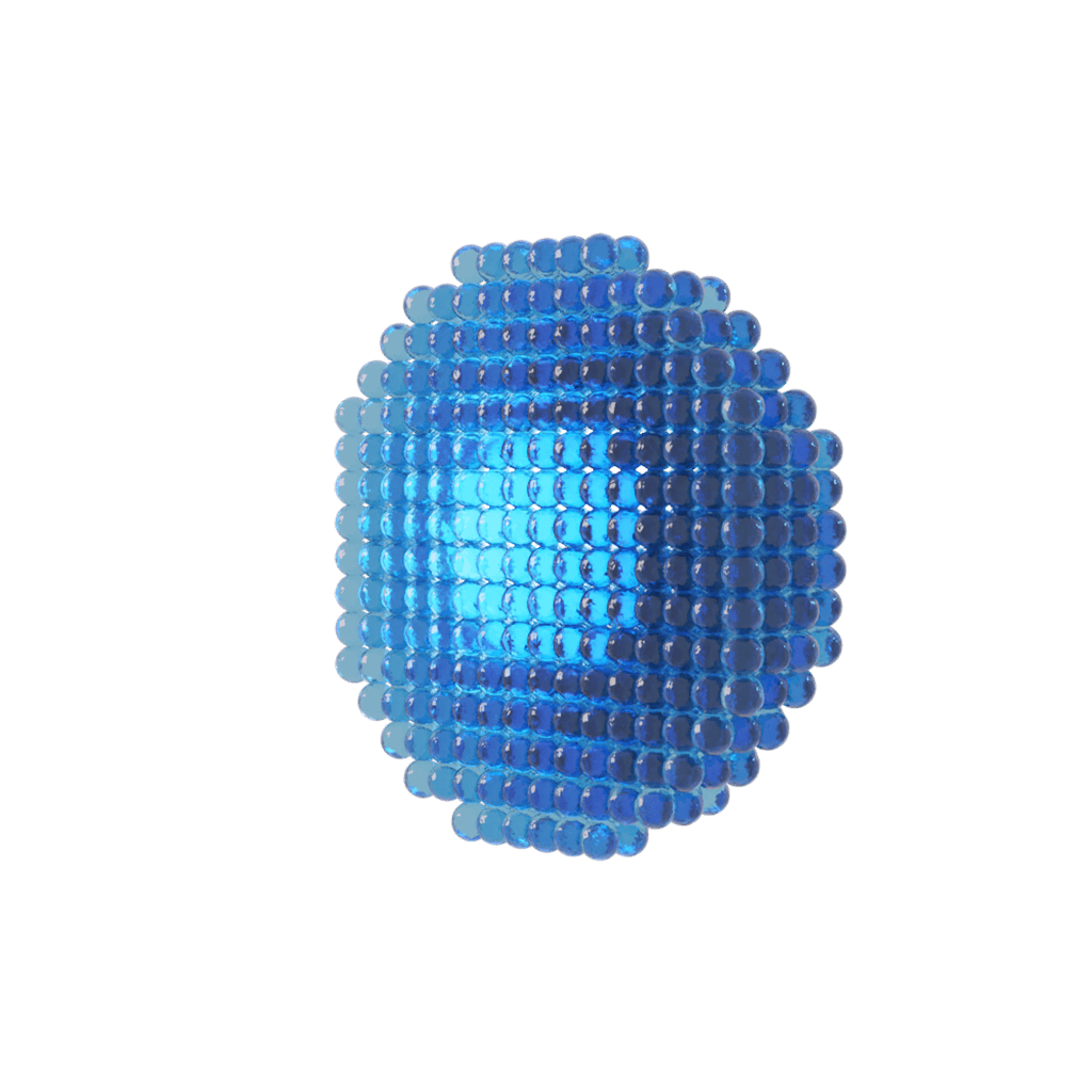 3d model of a nanoparticle for nfluids ncore nanotechnology for oil and gas drilling lubricant additive