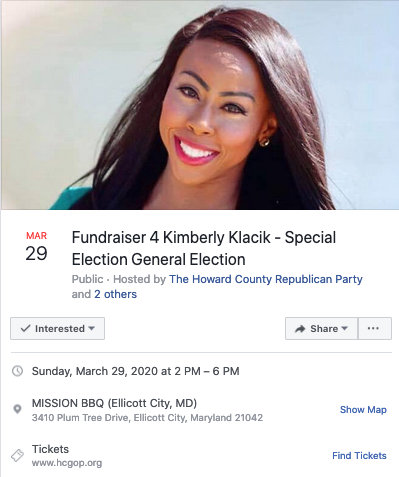 SPECIAL ELECTION/GENERAL ELECTION FUNDRAISER