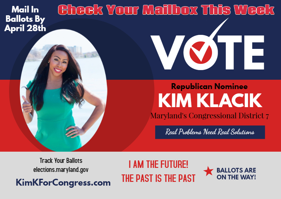Vote by Mail-Number 1 on the Ballot