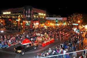 Downtown Parade of Lights in Tucson