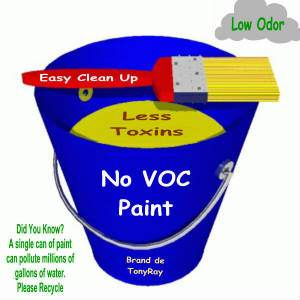 Understanding Low and No VOC Paints