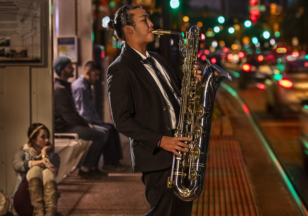 Congress Street is a major cultural hub for Tucson and hosts an array of events, including the annual Tucson Jazz Fest every January. Photo courtesy Steven Meckler.